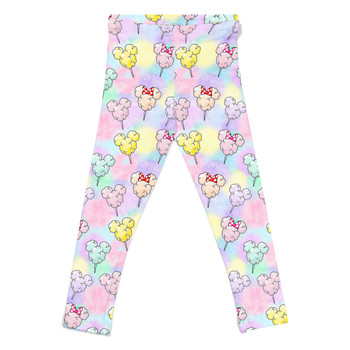 Girls' Leggings - Cotton Candy Mouse Ears