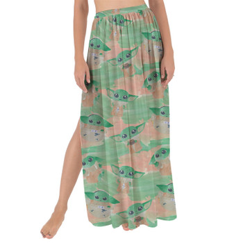 Maxi Sarong Skirt - The Camouflaged Child