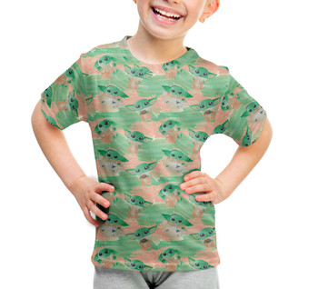 Youth Cotton Blend T-Shirt - The Camouflaged Child
