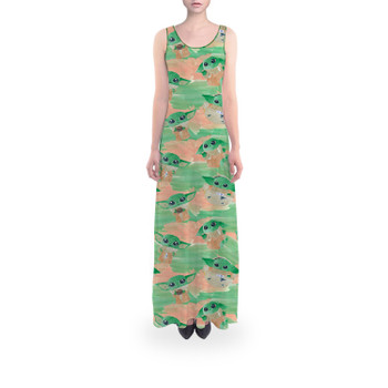 Flared Maxi Dress - The Camouflaged Child