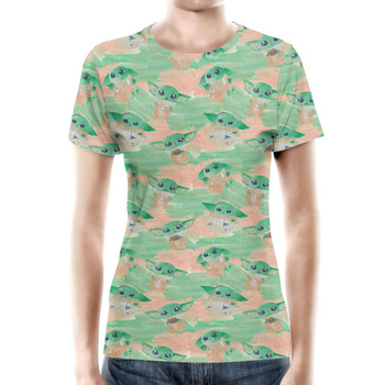 Women's Cotton Blend T-Shirt - The Camouflaged Child