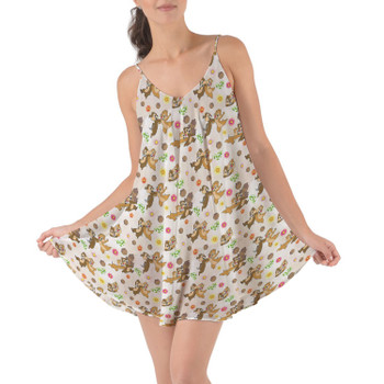 Beach Cover Up Dress - Chip 'n Dale