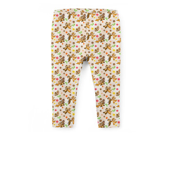 Girls' Capri Leggings - Chip 'n Dale