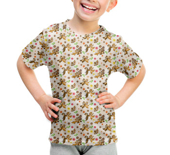 Youth Cotton Blend T-Shirt - Chip 'n Dale