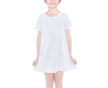 Girls Cotton T-shirt Dress