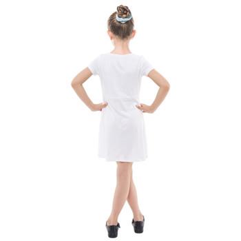 Girls Cross Web Dress