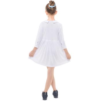 Girls Quarter Sleeve Shirt Dress