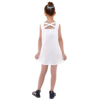 Girls Cross Back Dress