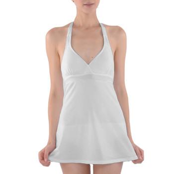 Halter Dress Swimsuit