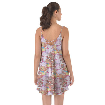 Beach Cover Up Dress - The Aristocats in Watercolor