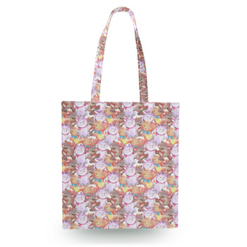 Canvas Tote Bag - The Aristocats in Watercolor
