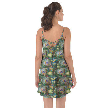 Beach Cover Up Dress - Tinkerbell in Pixie Hollow