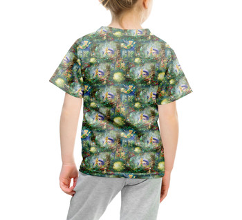 Youth Cotton Blend T-Shirt - Tinkerbell in Pixie Hollow