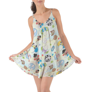 Beach Cover Up Dress - Toy Story Style
