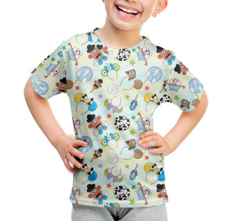 Youth Cotton Blend T-Shirt - Toy Story Style