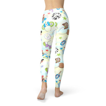 Winter Leggings - Toy Story Style