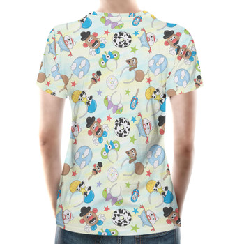 Women's Cotton Blend T-Shirt - Toy Story Style