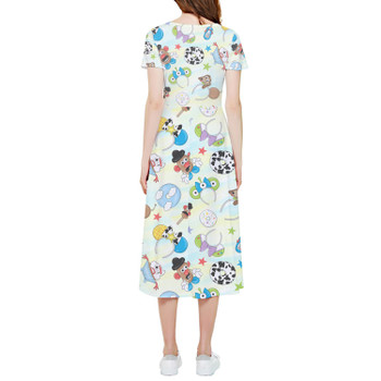 High Low Midi Dress - Toy Story Style