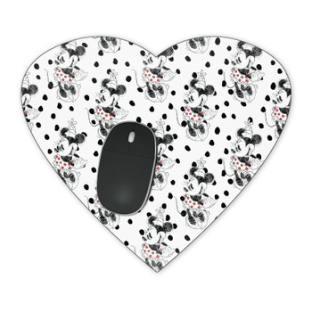 Mousepad - Sketch of Minnie Mouse
