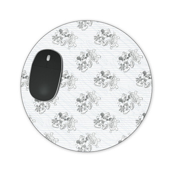 Mousepad - Sketch of Steamboat Mickey