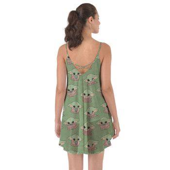 Beach Cover Up Dress - The Child Catching Frogs
