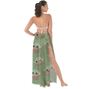 Maxi Sarong Skirt - The Child Catching Frogs