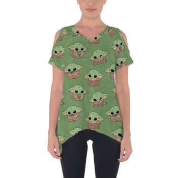 Cold Shoulder Tunic Top - The Child Catching Frogs
