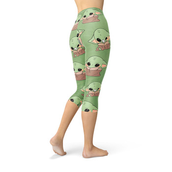 Winter Capri Leggings - The Child Catching Frogs