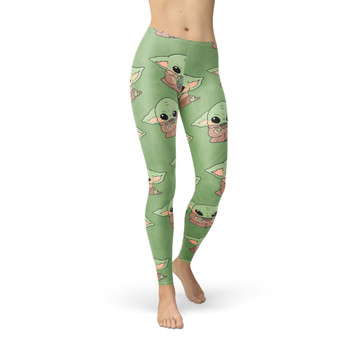 Winter Leggings - The Child Catching Frogs
