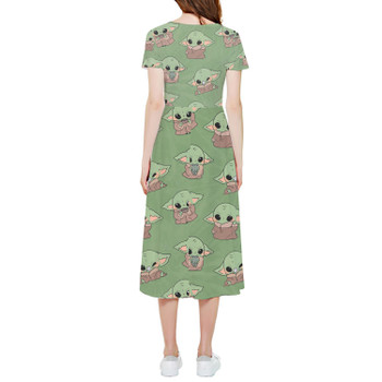 High Low Midi Dress - The Child Catching Frogs