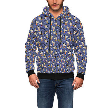 Men's Zip Up Hoodie - Goofy
