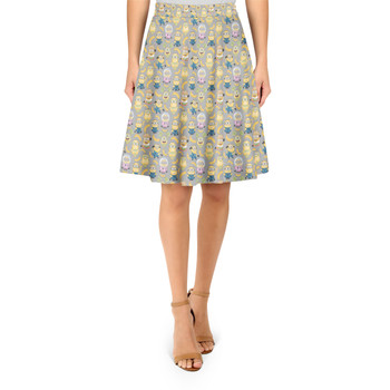 A-Line Skirt - Funny Minions