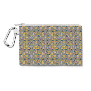 Canvas Zip Pouch - Funny Minions