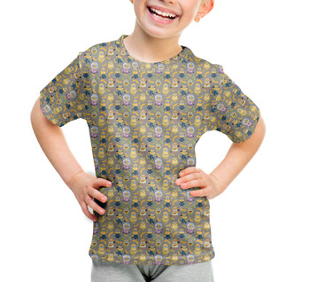 Youth Cotton Blend T-Shirt - Funny Minions