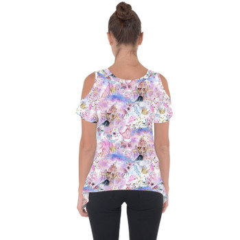 Cold Shoulder Tunic Top - Best Friends At Disney