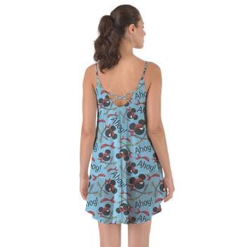 Beach Cover Up Dress - Pirate Mickey Ahoy!