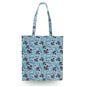 Canvas Tote Bag - Pirate Mickey Ahoy!