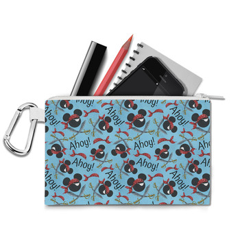 Canvas Zip Pouch - Pirate Mickey Ahoy!