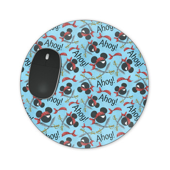Mousepad - Pirate Mickey Ahoy!