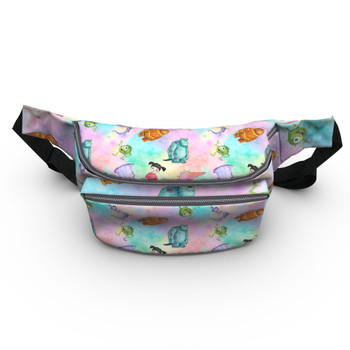 Fanny Pack - Watercolor Monsters Inc