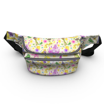 Fanny Pack - Watercolor Tangled