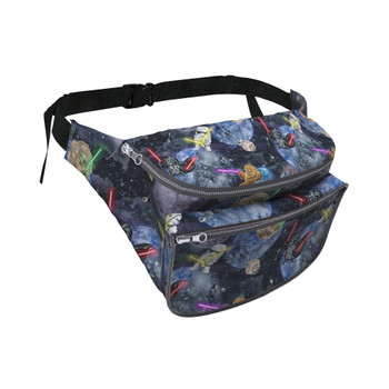 Fanny Pack - Watercolor Star Wars Battle