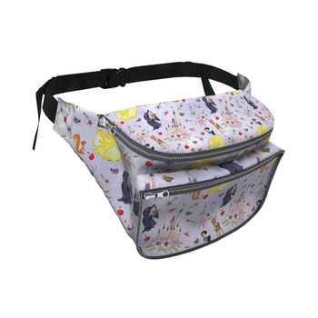 Fanny Pack - Watercolor Princess Snow White
