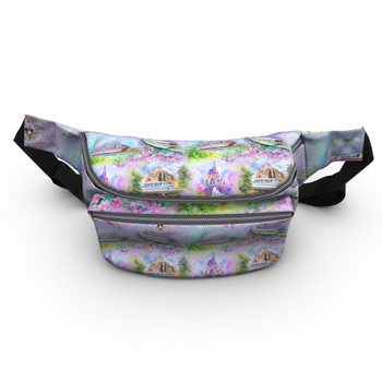 Fanny Pack - Watercolor Disney Monorail