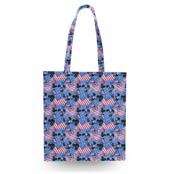 Canvas Tote Bag - Mickey's Fourth of July