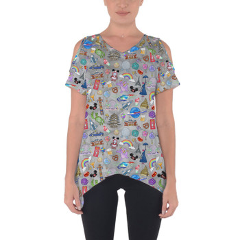 Cold Shoulder Tunic Top - The Epcot Experience