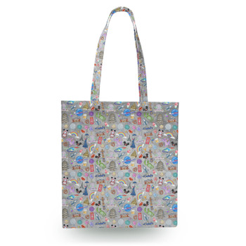 Canvas Tote Bag - The Epcot Experience