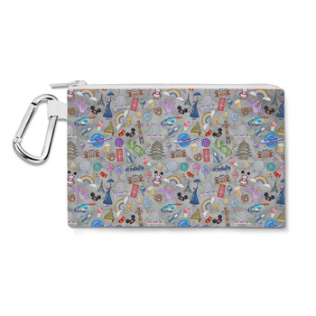 Canvas Zip Pouch - The Epcot Experience
