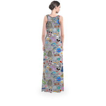 Flared Maxi Dress - The Epcot Experience