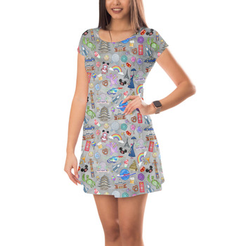 Short Sleeve Dress - The Epcot Experience